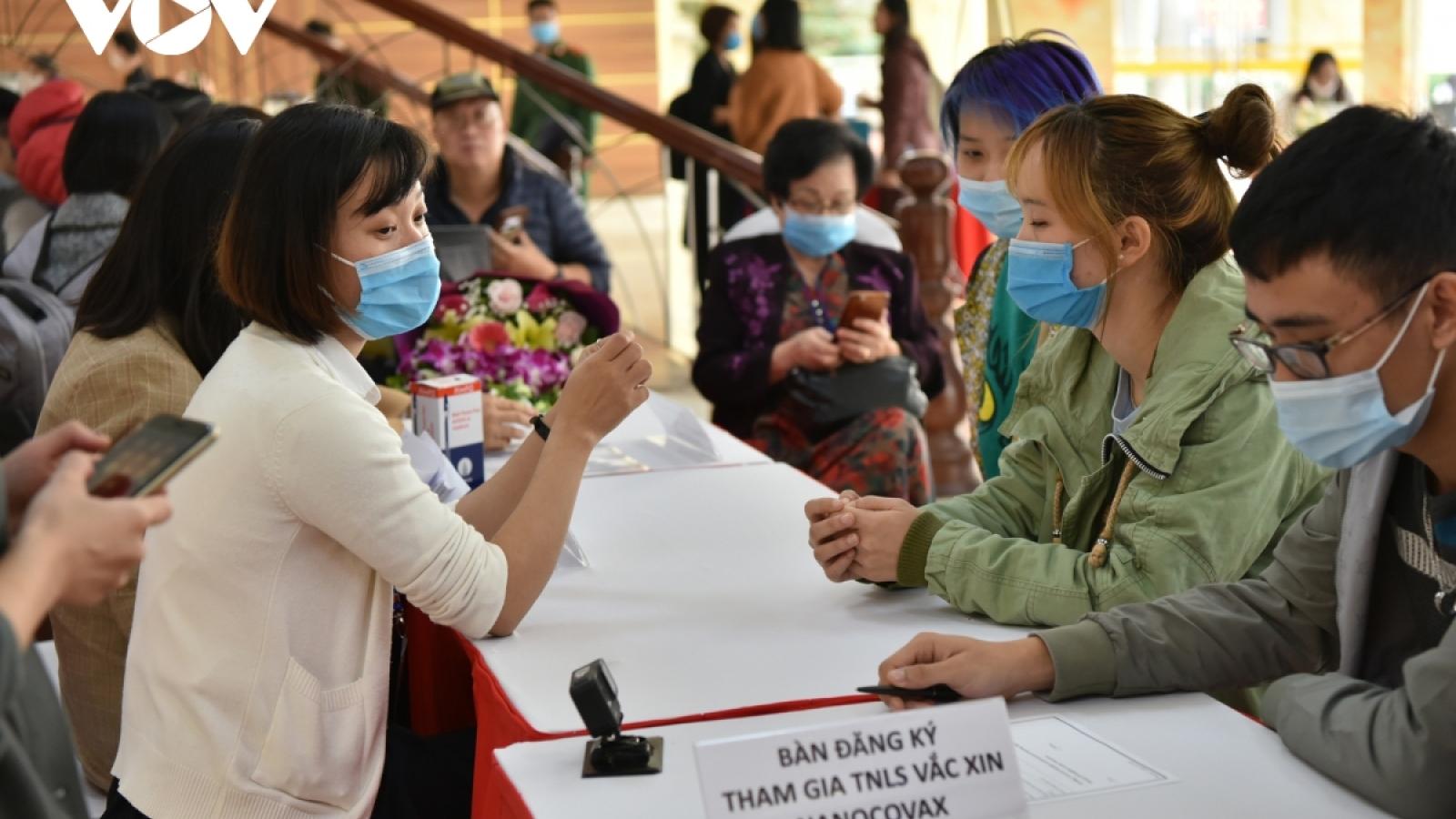 Hôm nay, 3 người đầu tiên tiêm thử nghiệm vaccine Covid-19 của Việt Nam
