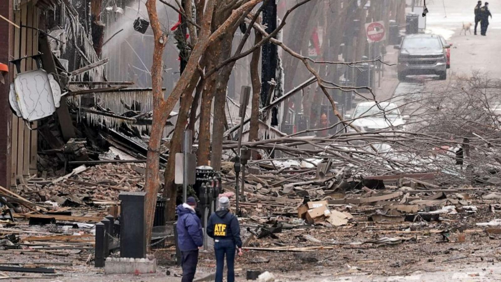Nashville (Mỹ) ban hành lệnh giới nghiêm đến hết tuần sau vụ nổ kinh hoàng