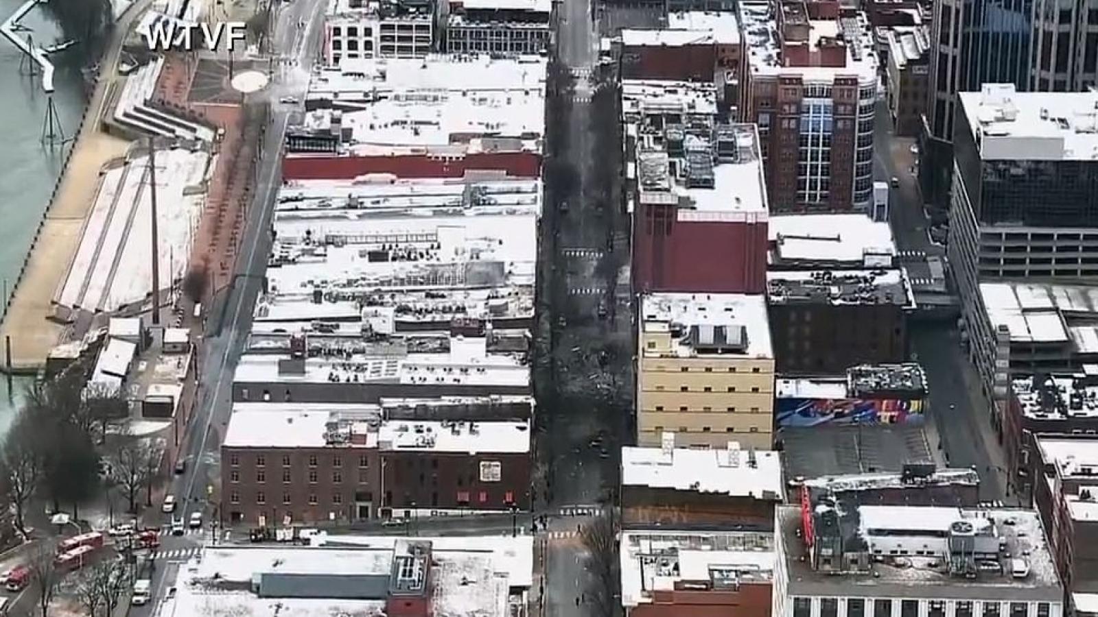 Nhân chứng vụ nổ Nashville: Mọi thứ trên đường đều bốc cháy