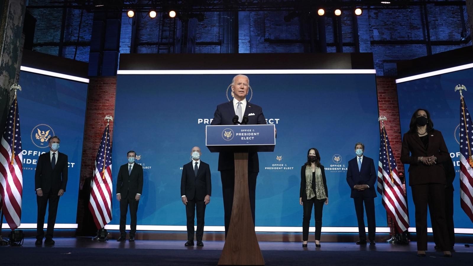 """Nội các được xây dựng từ những """"cựu binh"""" của Joe Biden"""