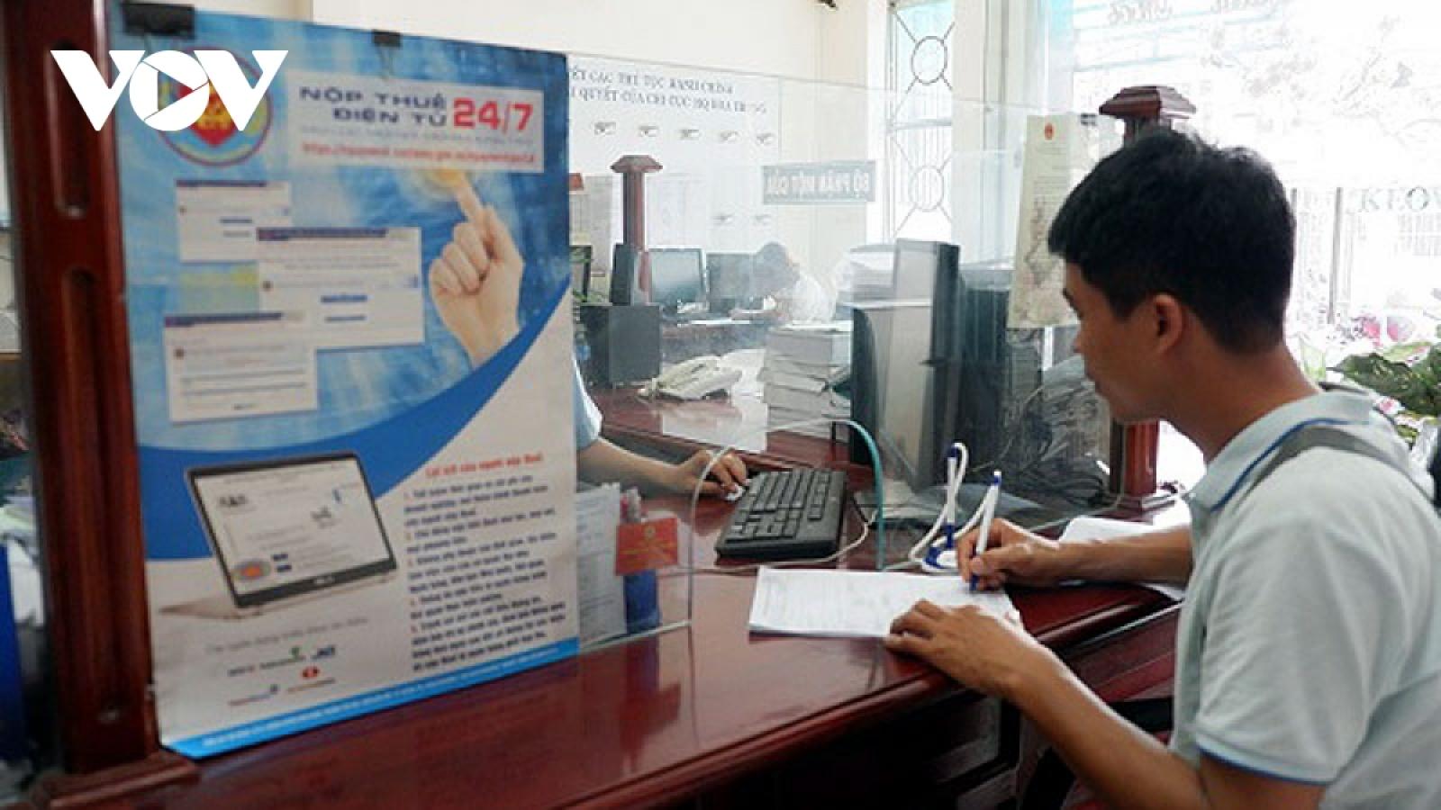 Cải cách thành công ngành Thuế, năng lực cạnh tranh quốc gia được nâng lên