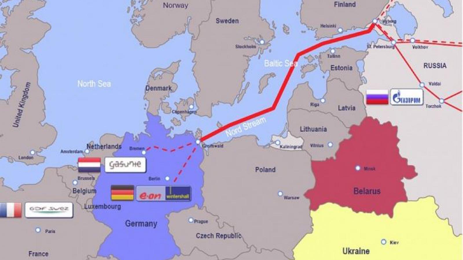 """Đức sẽ theo đuổi dự án """"Dòng chảy phương Bắc-2"""" bất chấp sức ép từ Mỹ"""