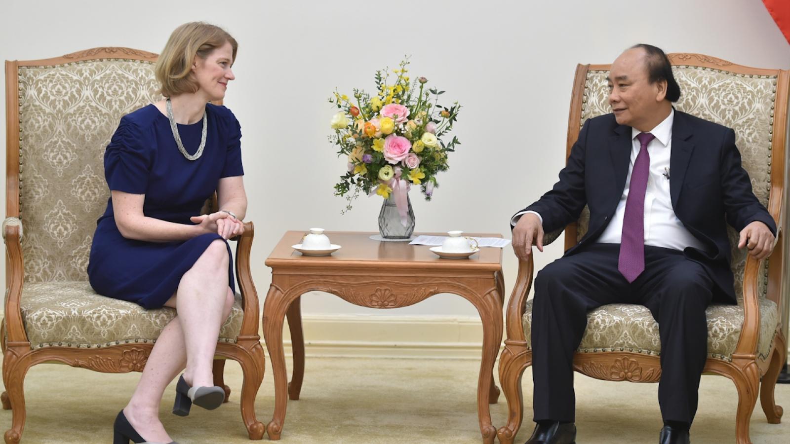 Thủ tướng tiếp Đại sứ New Zealand tại Việt Nam chào từ biệt