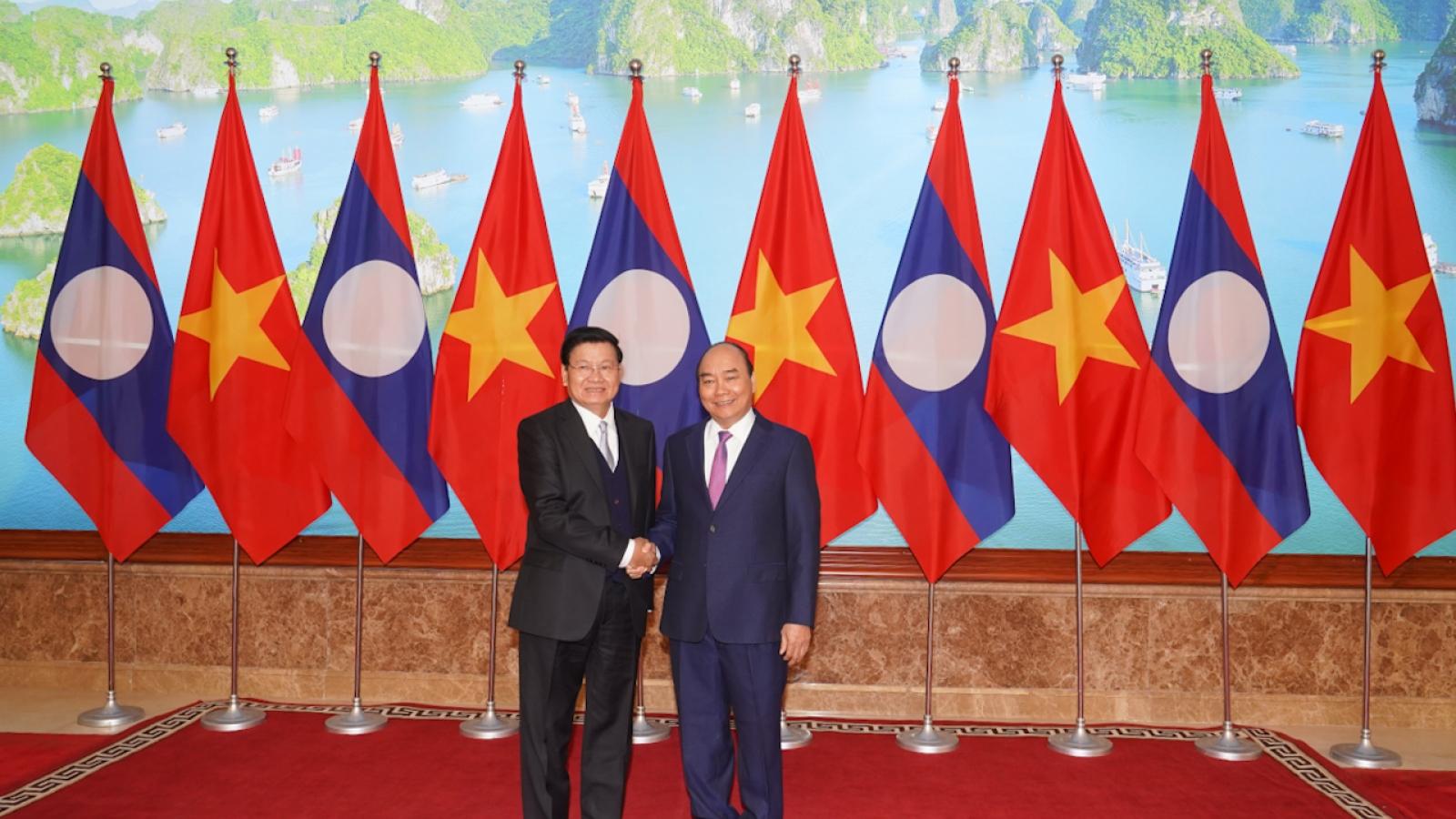 """Việt Nam-Lào đạt được kết quả """"chưa từng có"""" kể từ khi họp Ủy ban liên Chính phủ"""