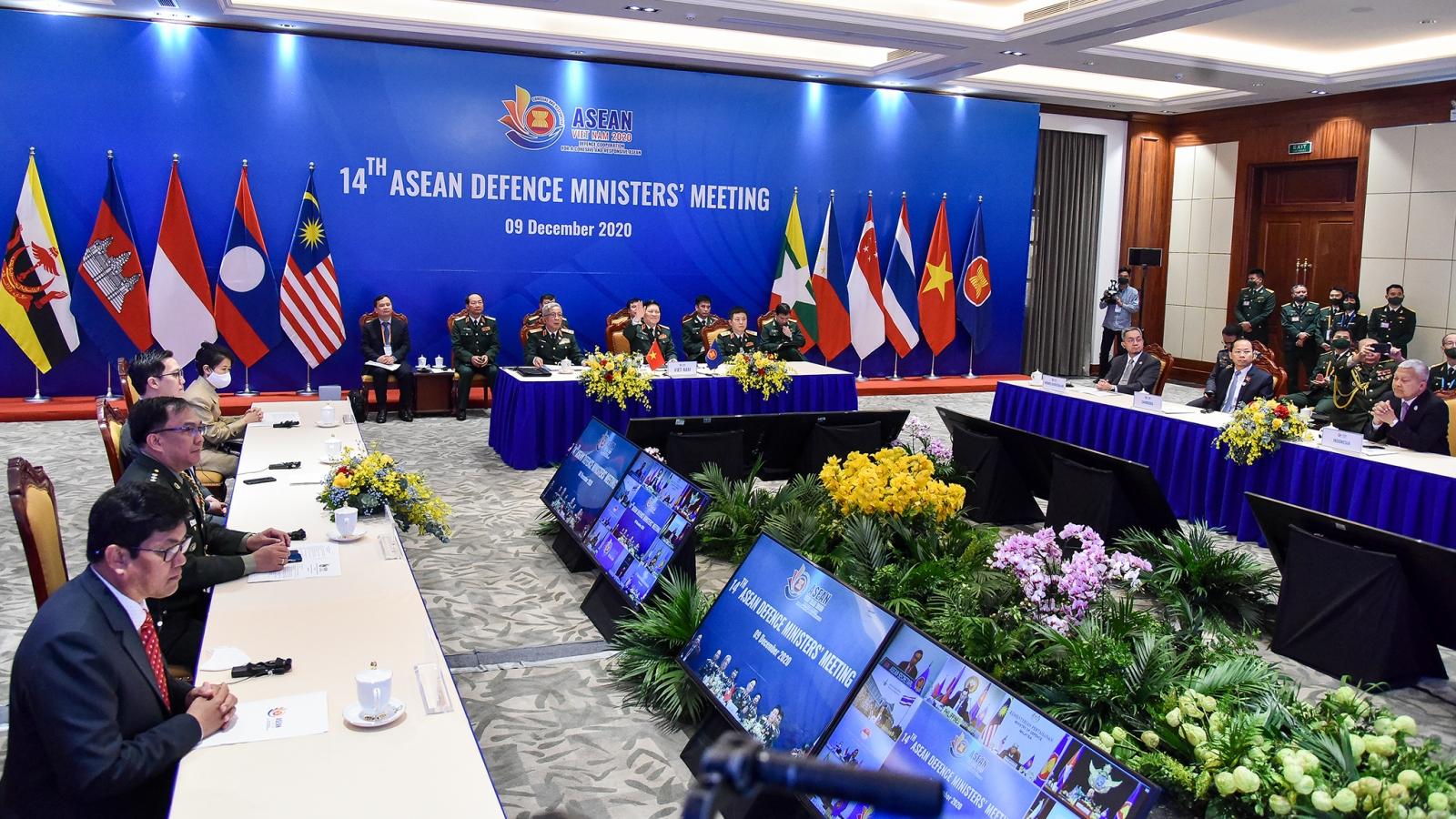 Bộ trưởng Quốc phòng ASEAN cam kết duy trì trật tự khu vực dựa trên luật pháp quốc tế