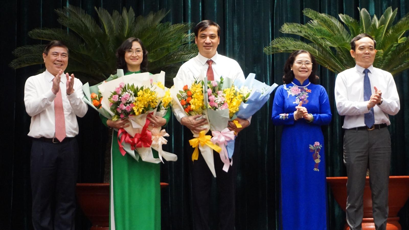 Uỷ ban nhân dân TPHCM có 2 Phó Chủ tịch mới