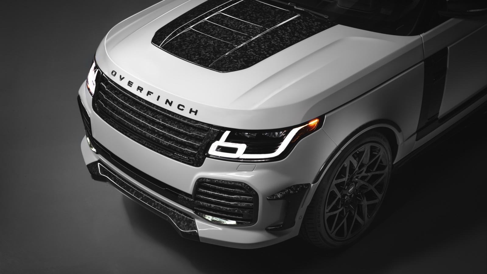 Range Rover Overfinch Velocity Final Edition 2021 phiên bản độ cho người cá tính