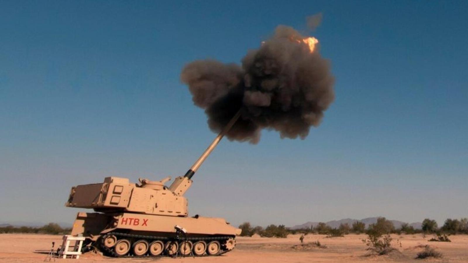 Pháo tăng tầm của Lục quân Mỹ tiêu diệt mục tiêu cách 70km