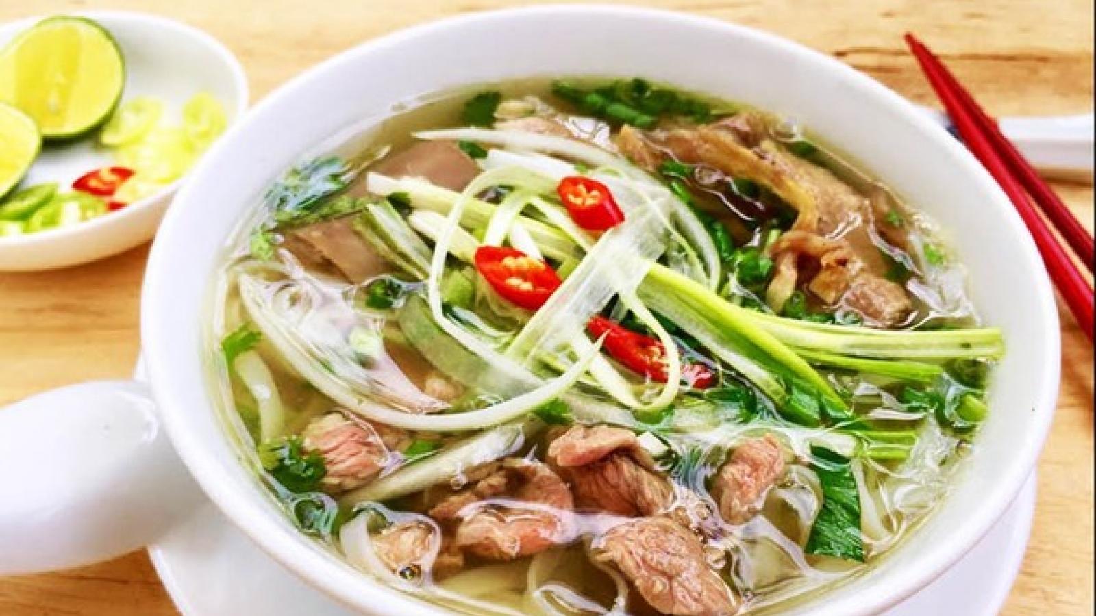Phở - Gói văn hóa Việtvươn tầm thế giới