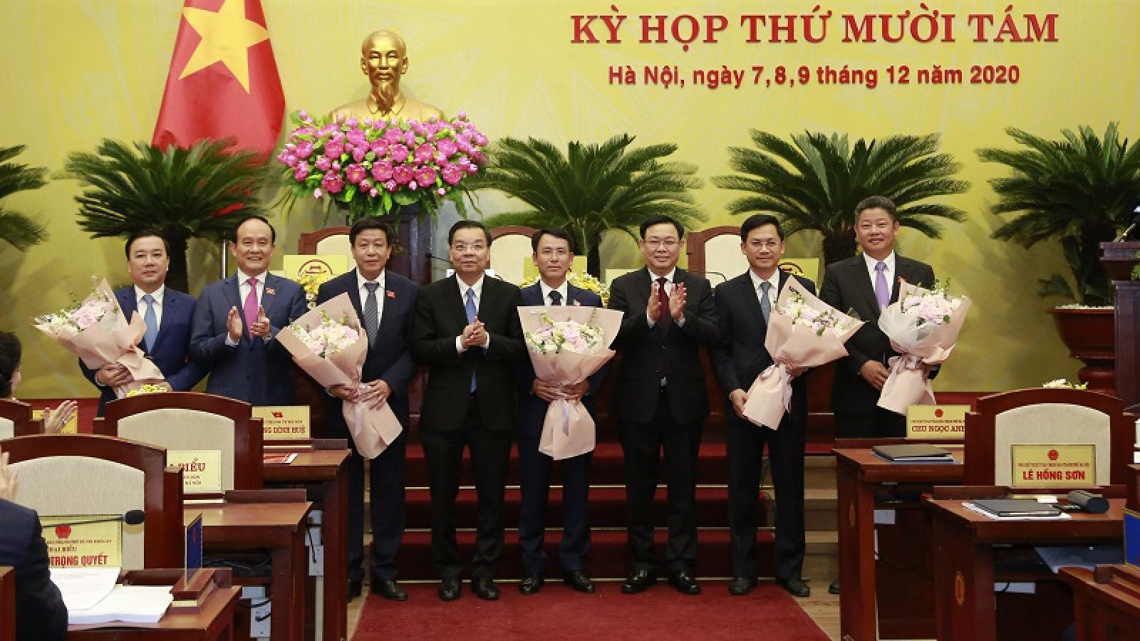 Thủ tướng phê chuẩn 5 Phó Chủ tịchHà Nội