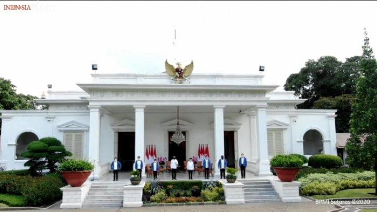 Indonesia cải tổ nội các, thay thế 6 bộ trưởng