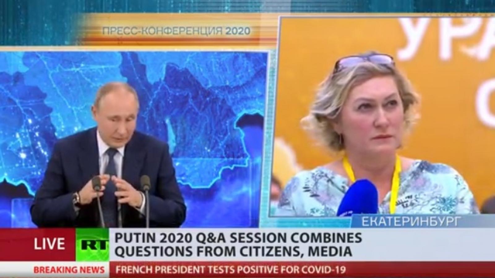 Tổng thống Nga Putin nói sẵn sàng tiêm vaccine Covid-19 dù ông đã quá tuổi khuyến cáo