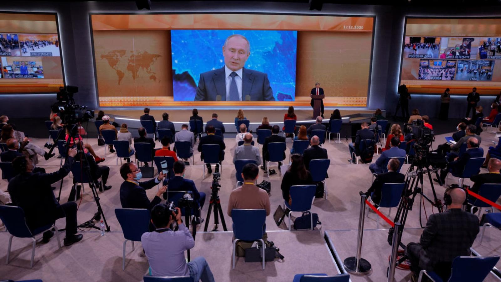 Cuộc họp báo lớn thường niên lần thứ 16 của Tổng thống Nga
