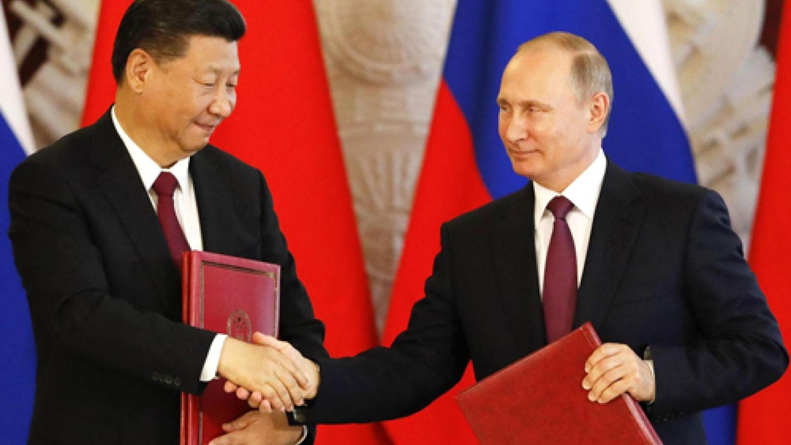 Tổng thống Nga Putin nuôi ý tưởng thành lập liên minh quân sự với Trung Quốc?