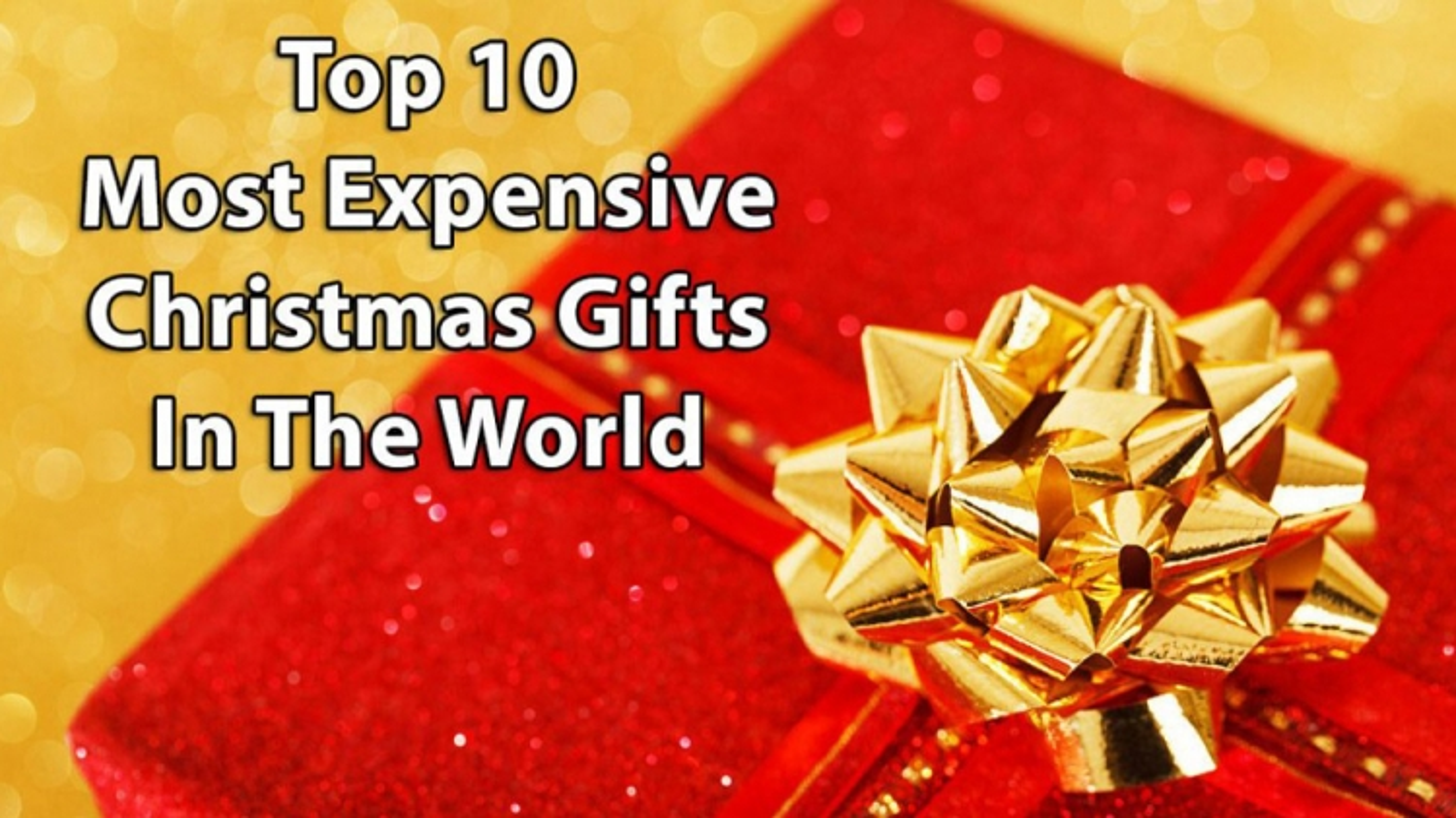 Những món quà Giáng sinh siêu đắt đỏ