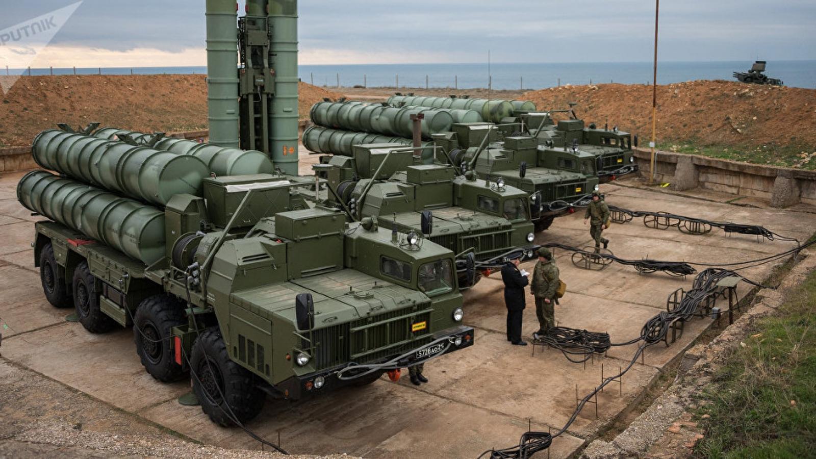 Thổ Nhĩ Kỳ không thể bị trừng phạt theo CAATSA vì mua S-400 của Nga