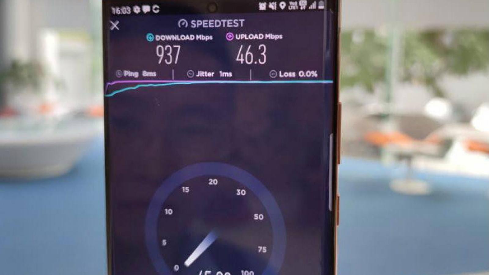 Ngày 22/12: Mạng 5G Viettel đã dùng được trên điện thoại Samsung