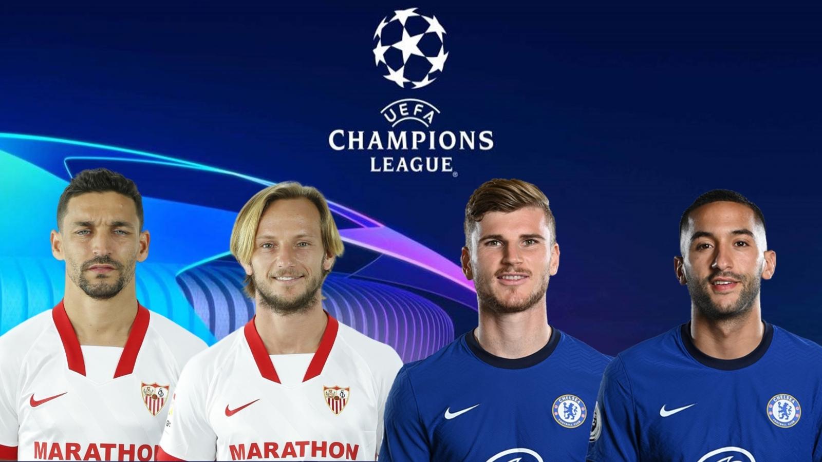 Thông tin lực lượng và đội hình dự kiến trận Sevilla - Chelsea