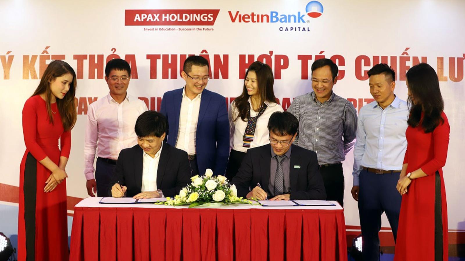 Apax Holdings phát hành 100 tỷ đồng trái phiếu cho Vietinbank Capital