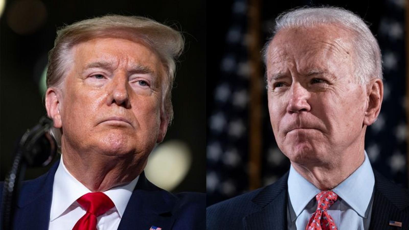 Chấn thương của Biden tiết lộ sự khác biệt giữa ông và Tổng thống Trump