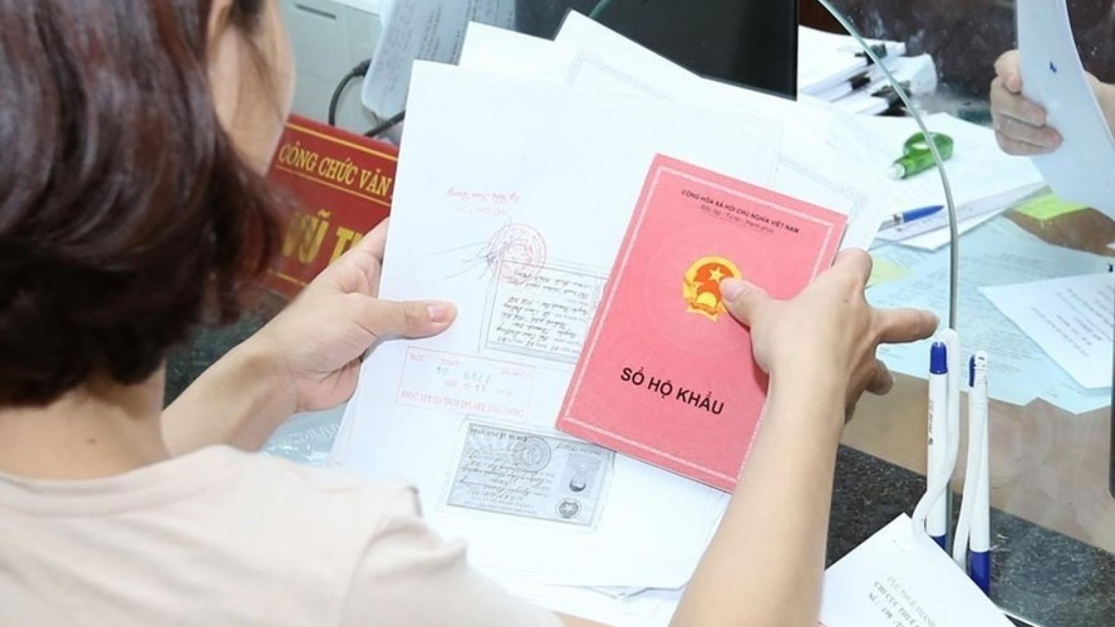 Chính thức bỏ sổ hộ khẩu giấy từ 1/7/2021