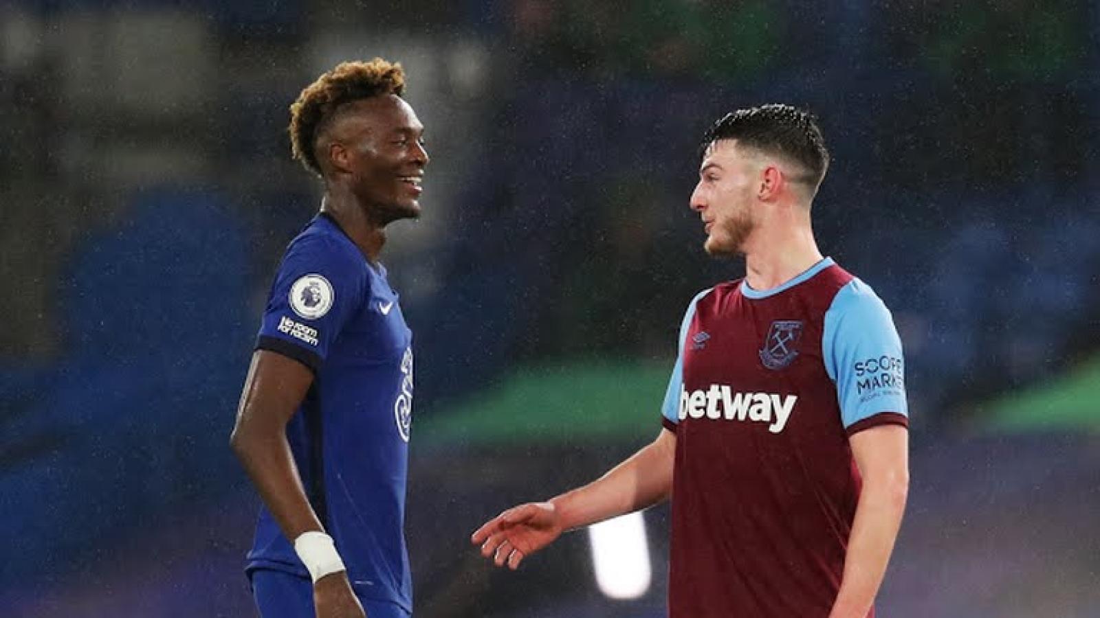 """""""Drogba 2.0"""" tỏa sáng, Chelsea đè bẹp West Ham"""