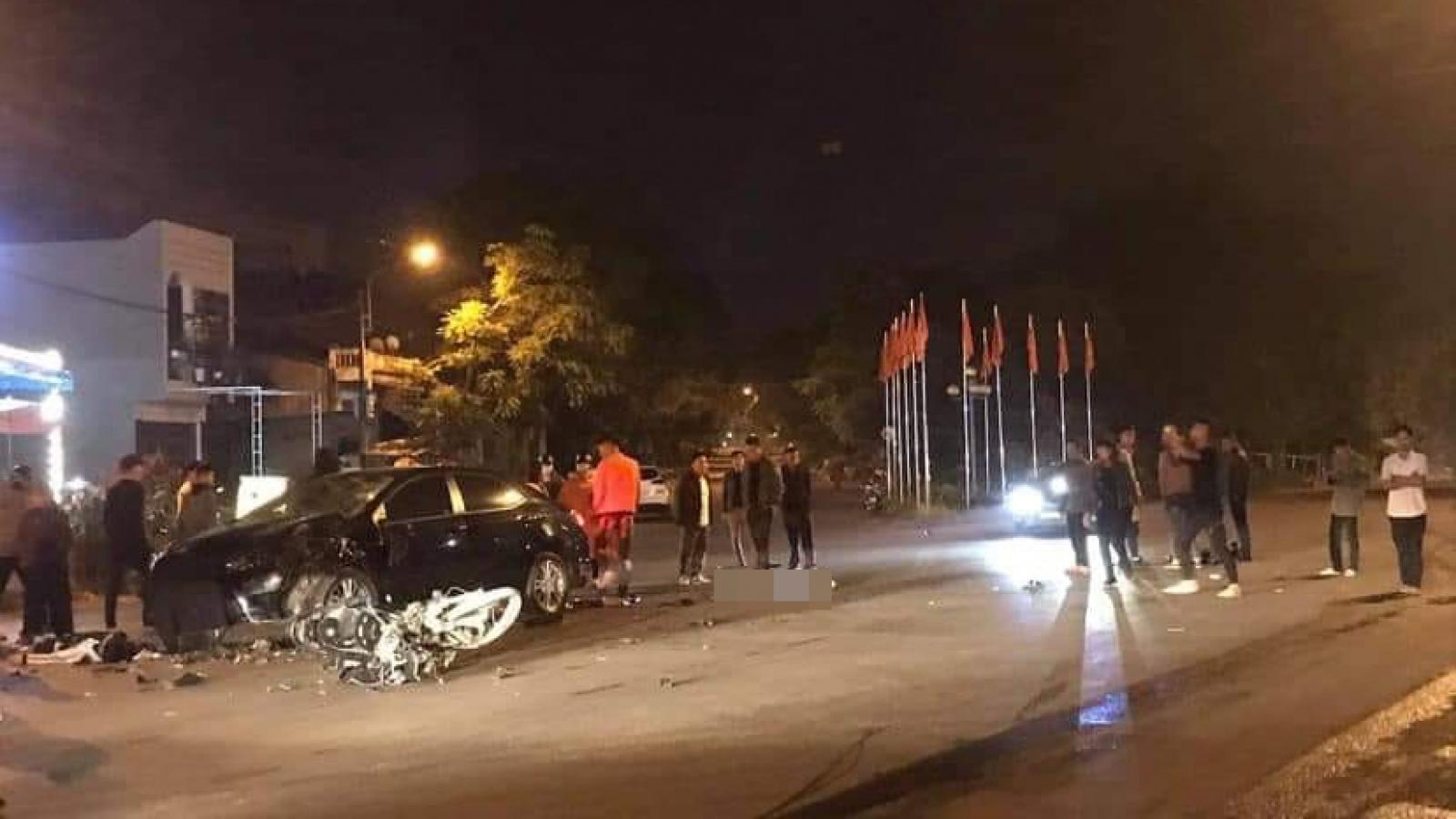 3 sinh viên Cao đẳng Lào Cai thương vong sau va chạm với ô tô