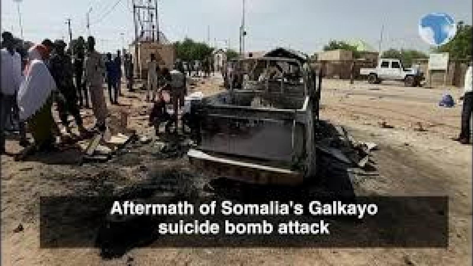 Đánh bom liều chết, hàng chục người thương vong tạiSomalia