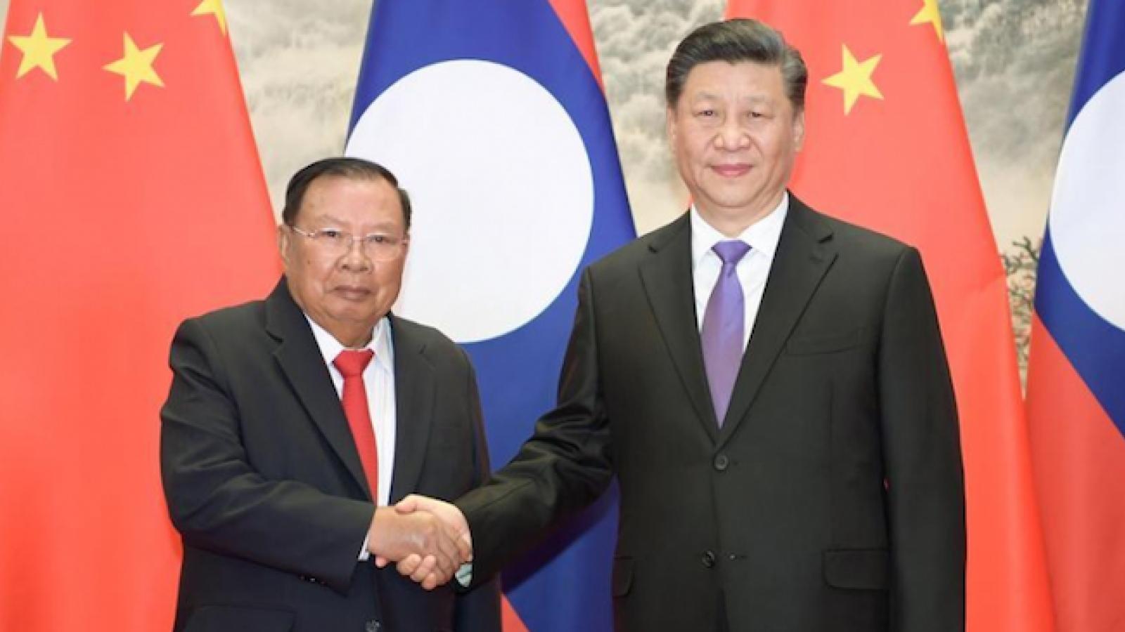 Trung Quốc và Lào đề ra phương hướng hợp tác trong năm 2021