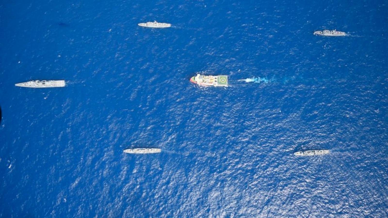 Hải quân Hy Lạp kết thúc cuộc tập trận bắn đạn thật