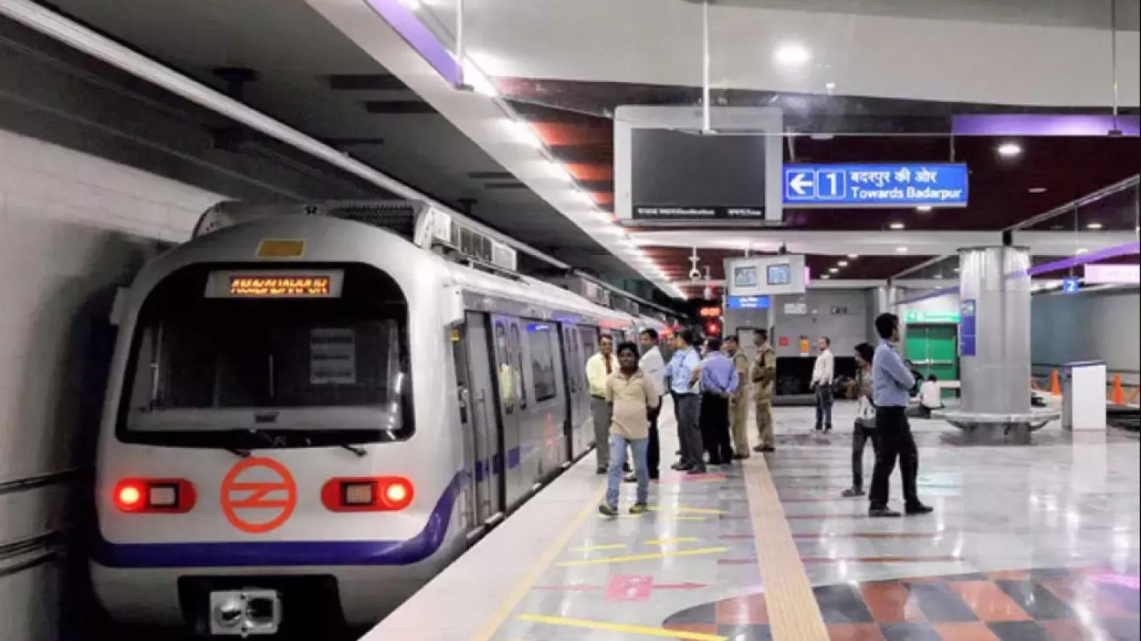 Ấn Độ chính thức khai trương tuyến tàu điện ngầm không người lái đầu tiên