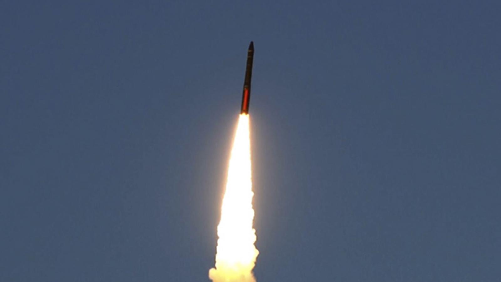 Nga phóng thành công tên lửa hạt nhân chiến lược