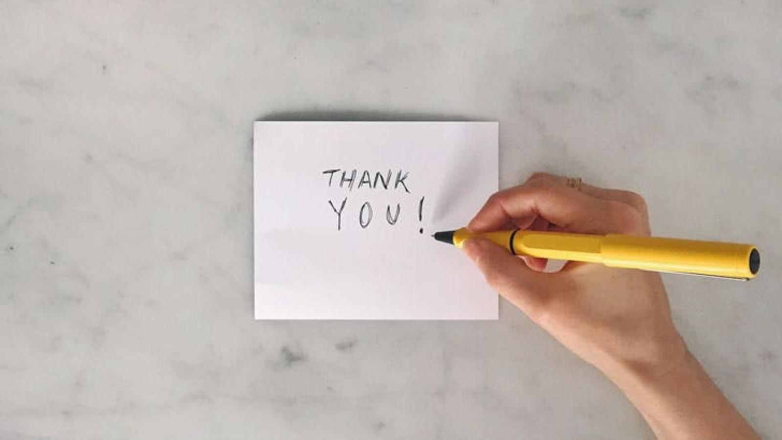 Những cách tỏ lòng biết ơn tới người khác vào mùa Giáng Sinh