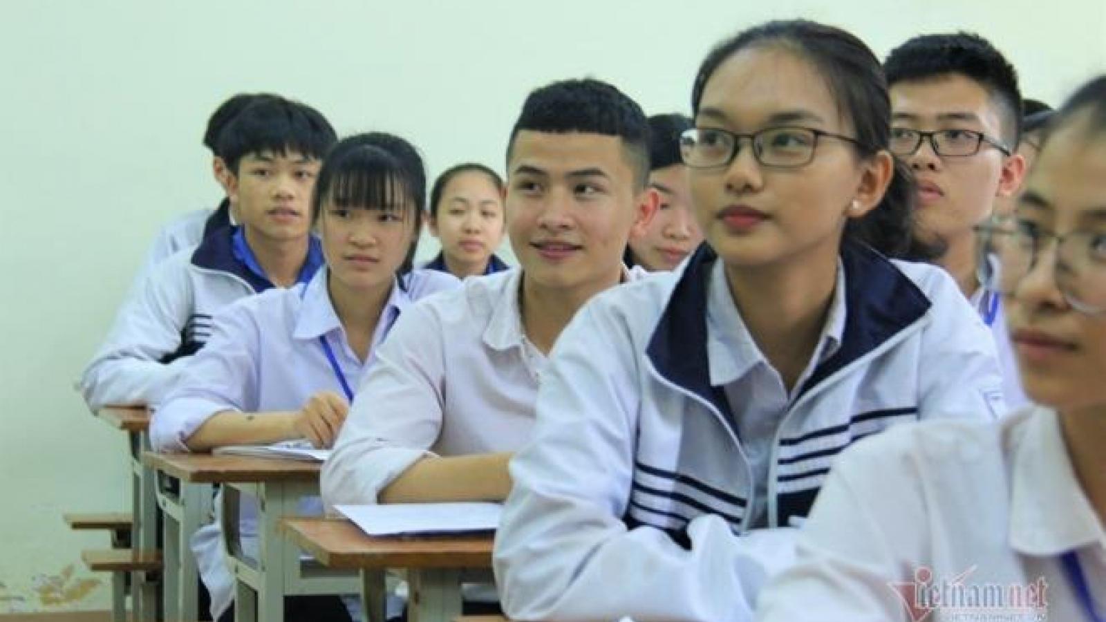Hôm nay, hơn 4.500 học sinh bắt đầu thi chọn học sinh giỏi quốc gia 2020