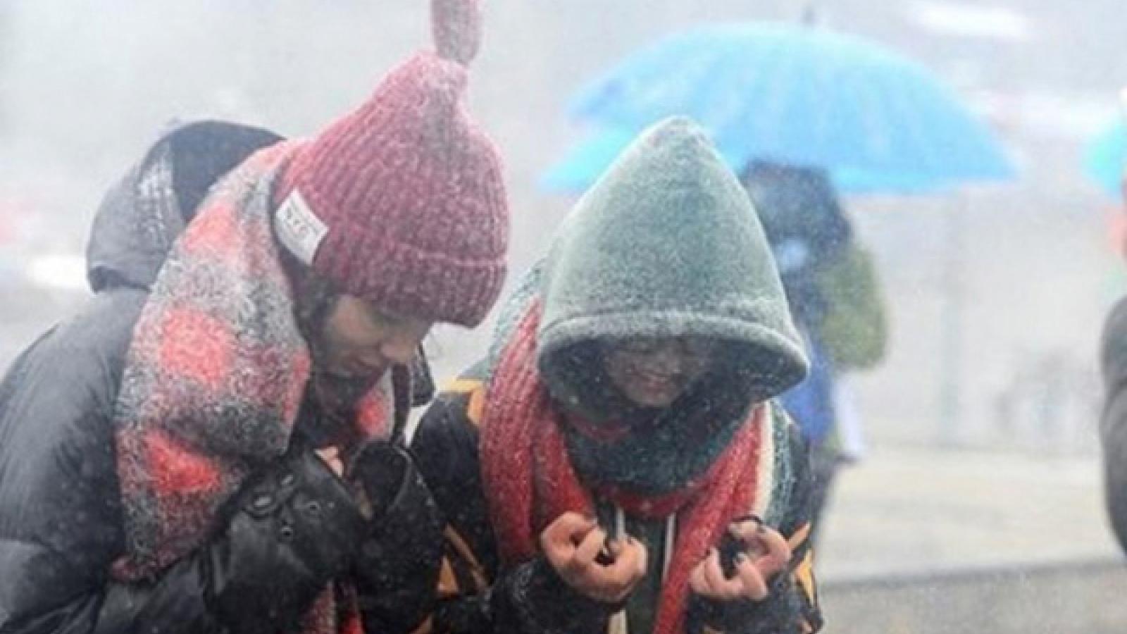 Thời tiết hôm nay: Phía Bắc rét đậm, có nơi rét hại