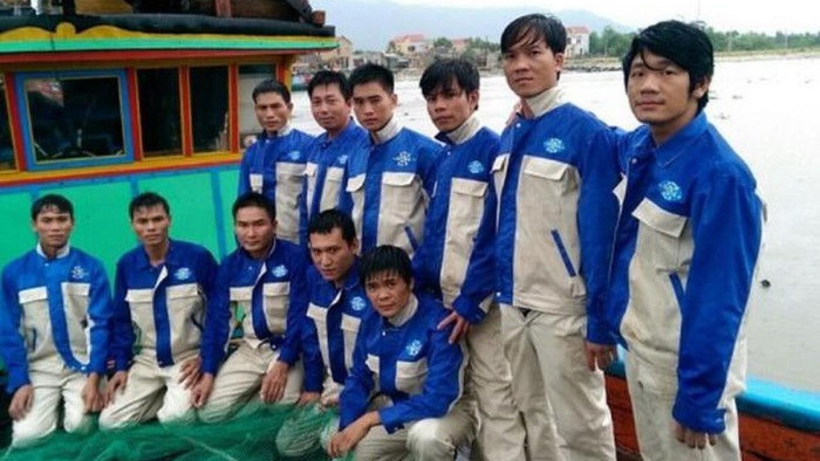 Quyền lợi thuyền viên Việt Nam làm việc trên tàu cá Hàn Quốc được nâng cao