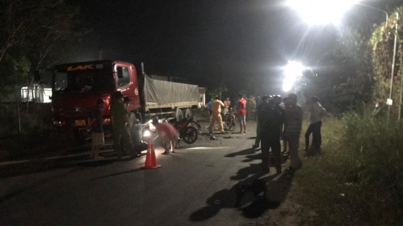 Liên tiếp xảy ra tai nạn giao thông ở Bình Phước, Bình Dươngkhiến 5 người thương vong