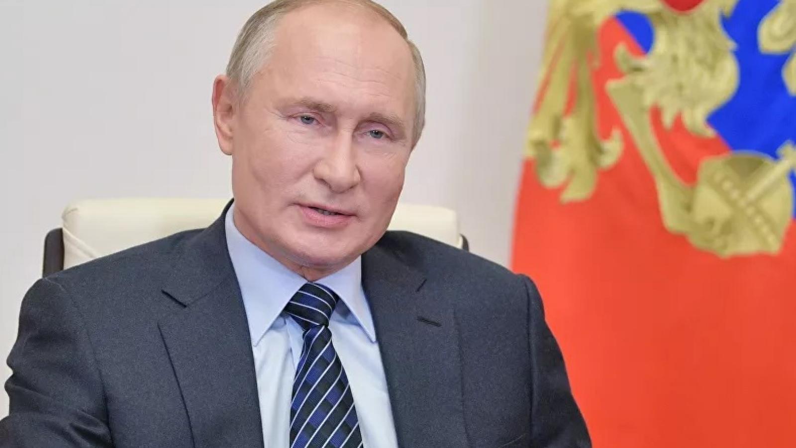 Biện pháp nghiêm ngặt được áp dụng trong họp báo trực tuyến cuối năm của Putin