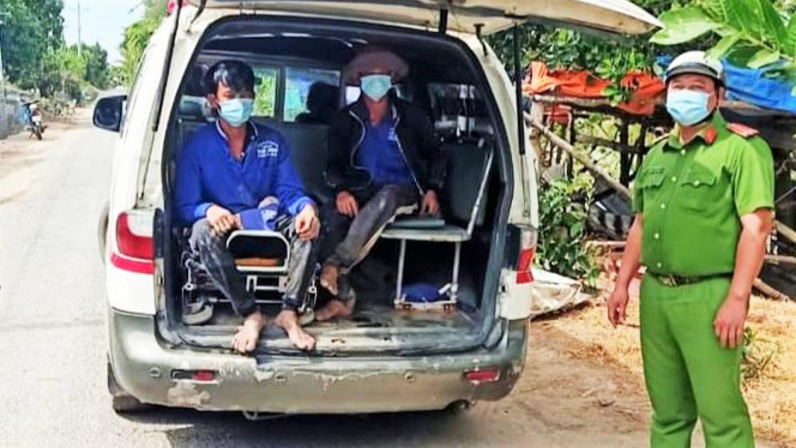 Đã tìm được 2 người nhập cảnh trái phép trốn khỏi khu cách ly tập trung