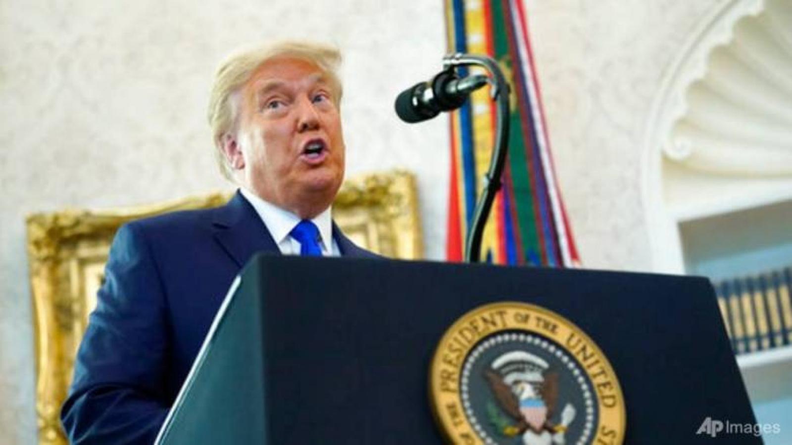 Tổng thống Trump sẽ không áp thuế mới lên Trung Quốc trước tháng 1
