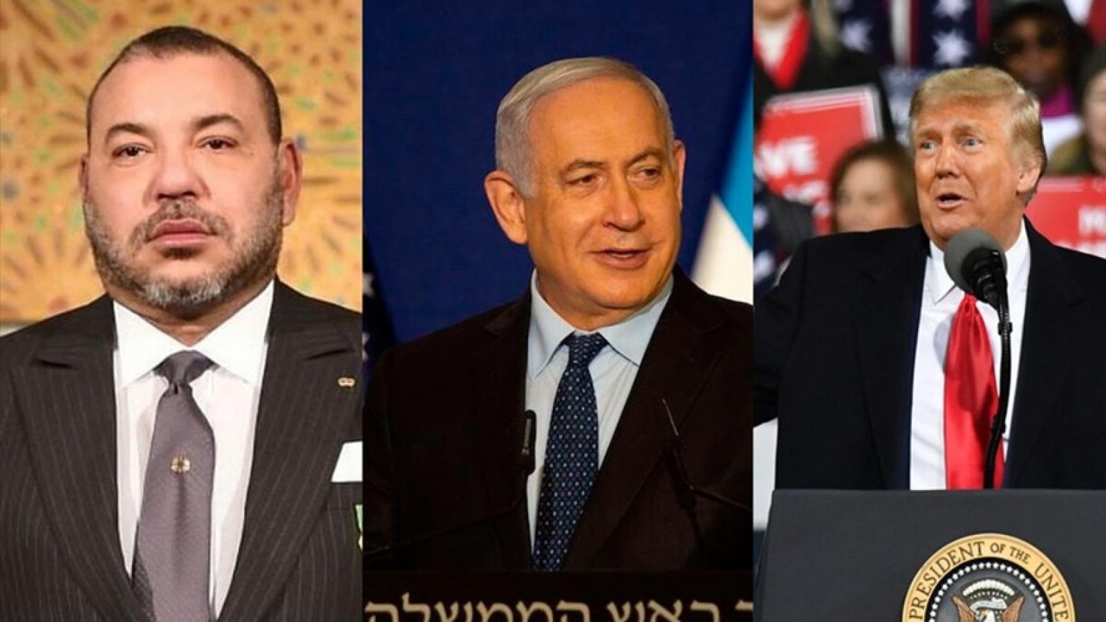 """Thỏa thuận hòa bình Marocco- Israel: """"Nước cờ cuối"""" trong chính sách Trung Đông của Trump"""