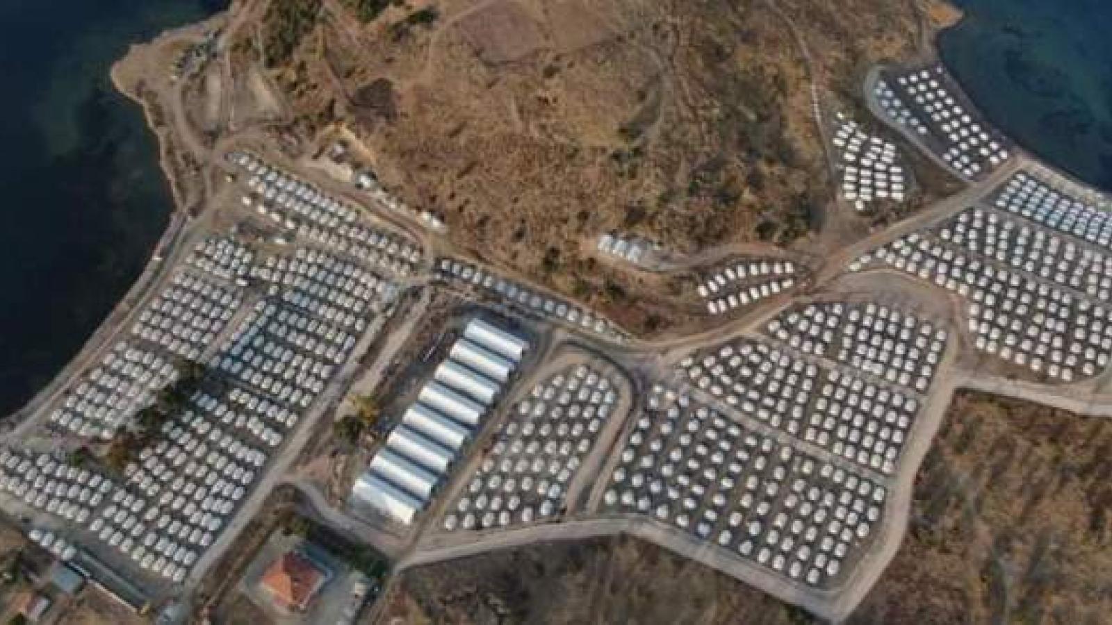 EU và Hy Lạp ký bản ghi nhớ hợp tác về tiếp nhận di cư mới trên Lesvos