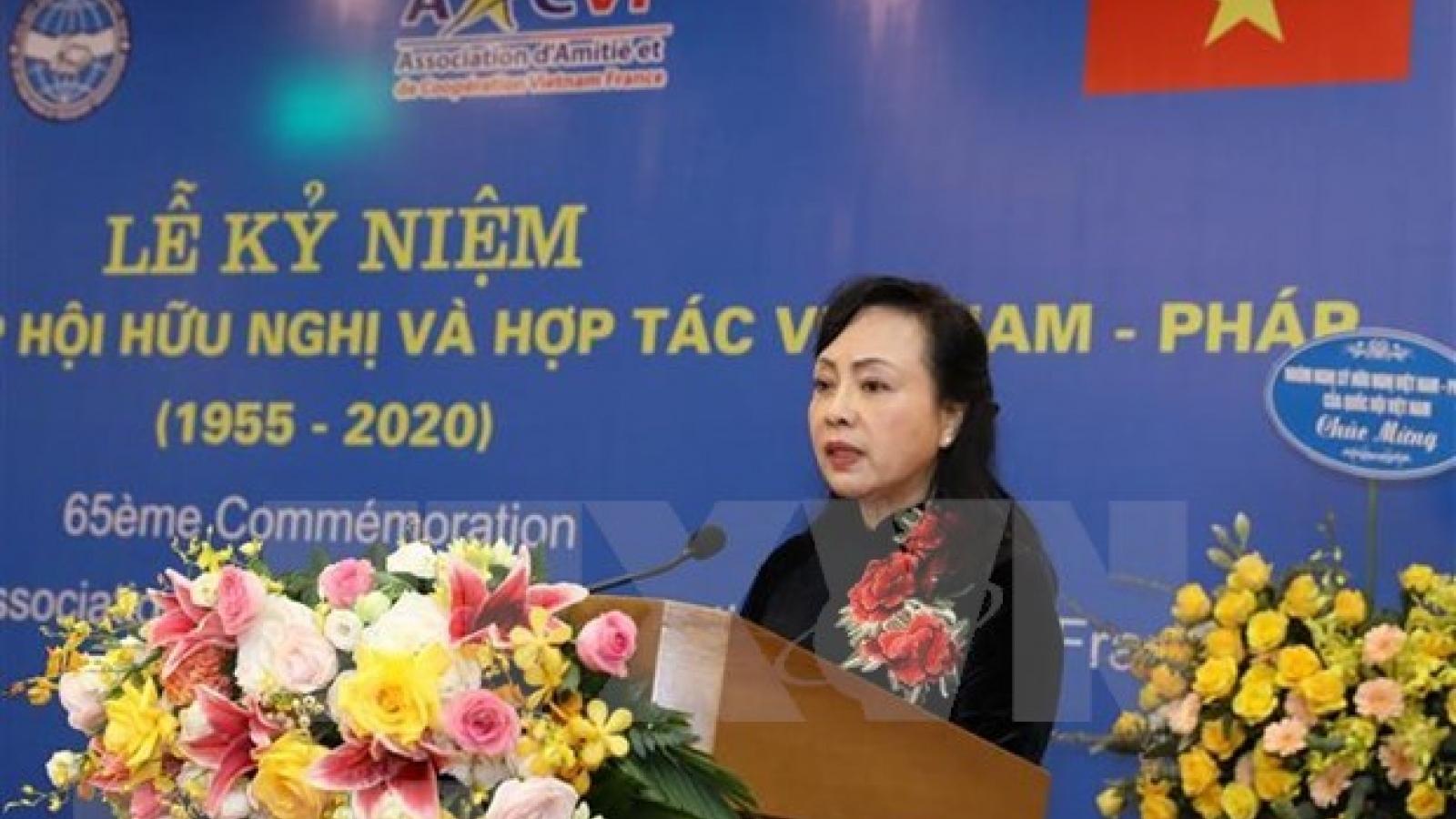Vietnam-France Friendship Association marks 65th anniversary