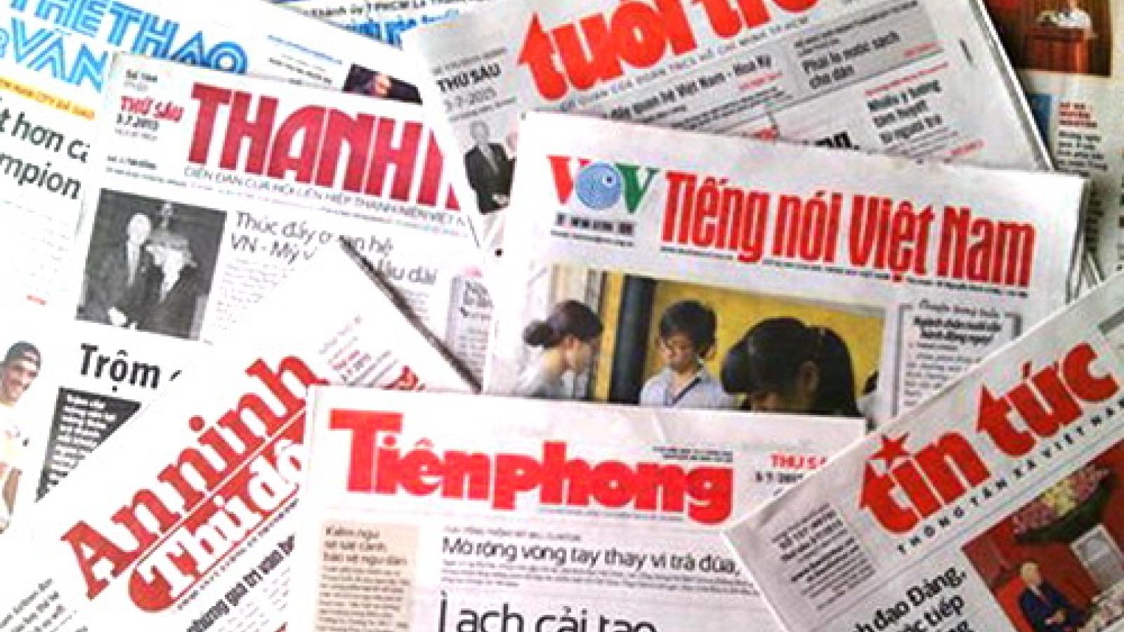 Bác bỏ nội dung sai sự thật Tổ chức Ủy ban Bảo vệ Nhà báo đưa ra về Việt Nam