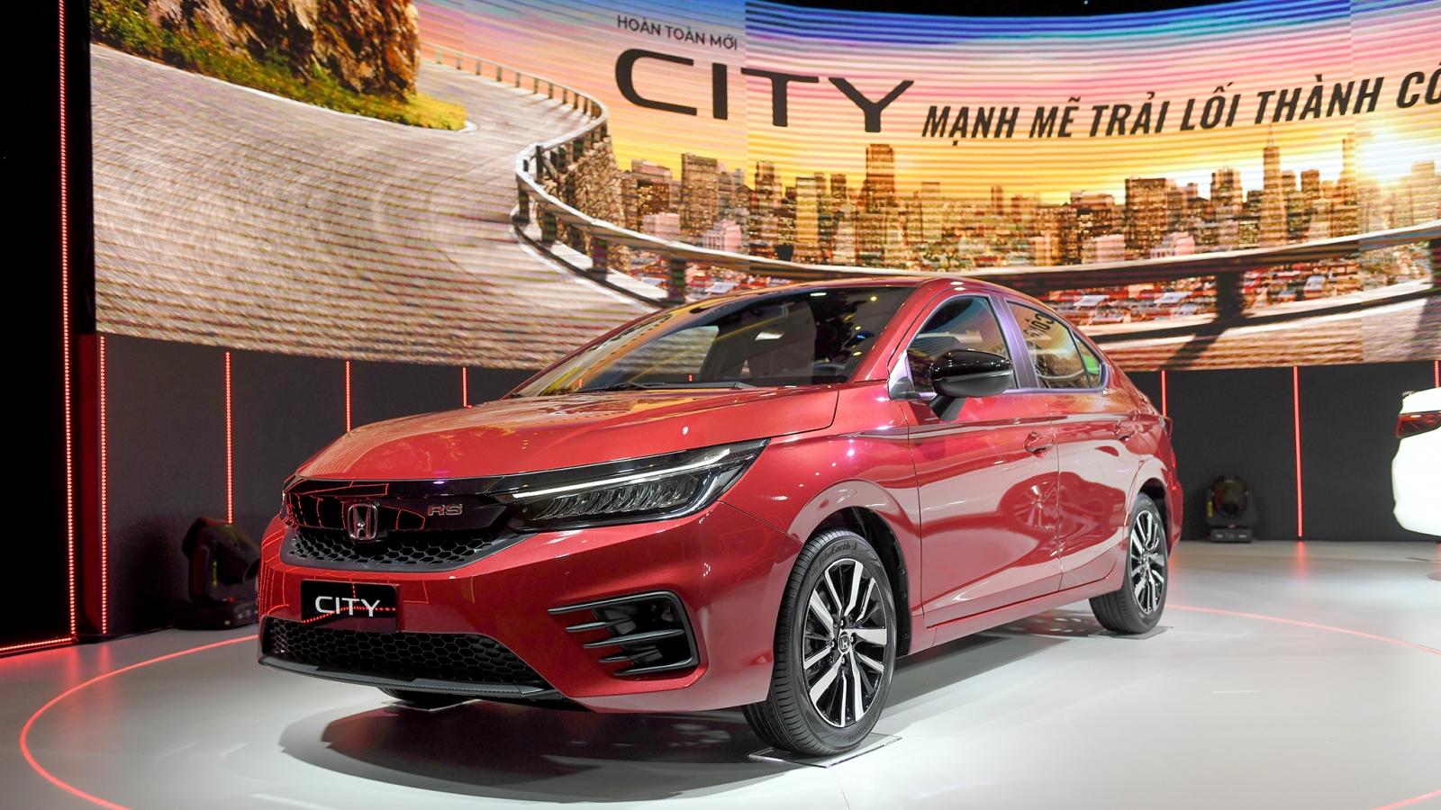 Honda City 2021 chốt giá từ 529 triệu đồng