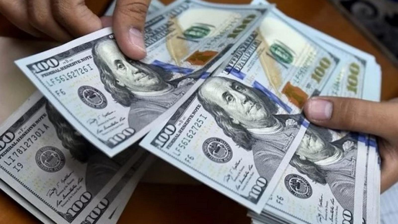Tỷ giá USD bật tăng trong phiên giao dịch cuối tuần