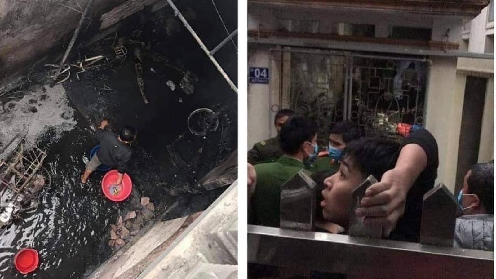 Nghi nổ bình ga làm 2 người chết 1 người bịthương ở Phú Xuyên