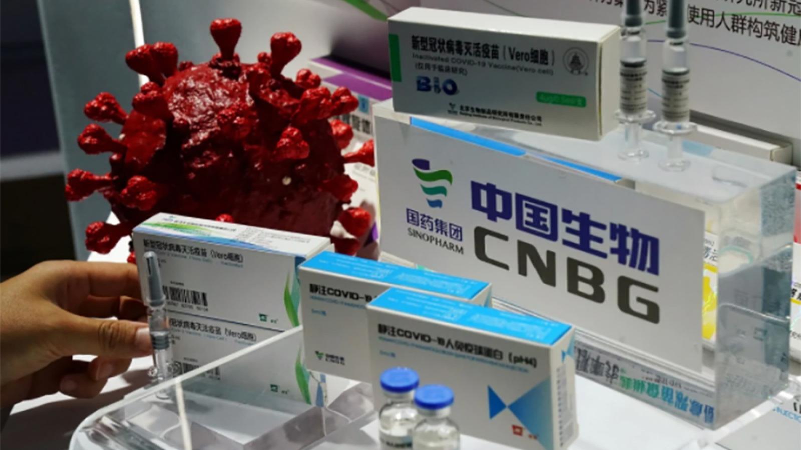 Trung Quốc sẽ viện trợ vaccine Covid-19 cho hơn 50 quốc gia