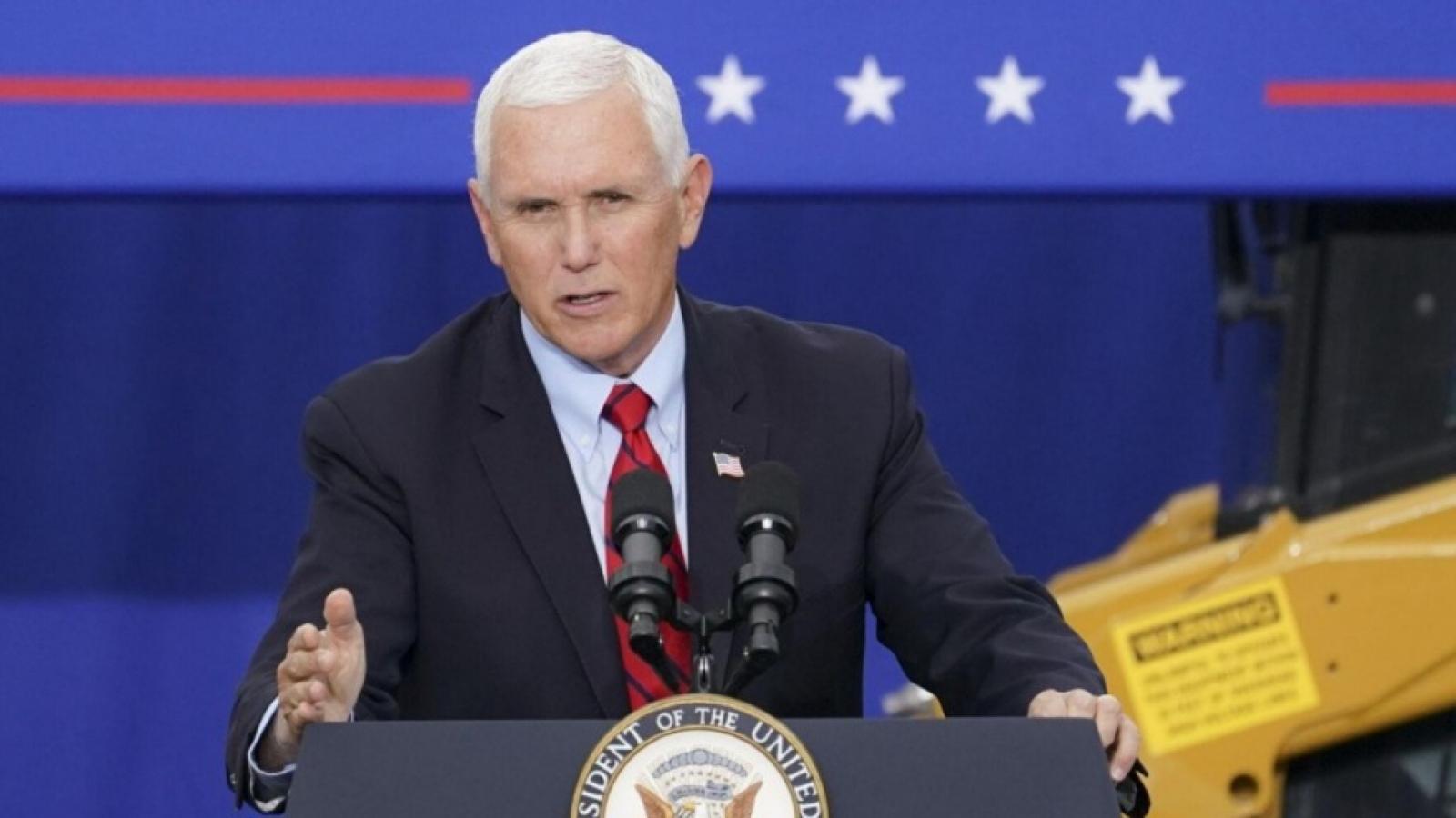 Phó Tổng thống Mỹ Mike Pence có đủ thẩm quyền để đảo ngược chiến thắng của ông Biden?