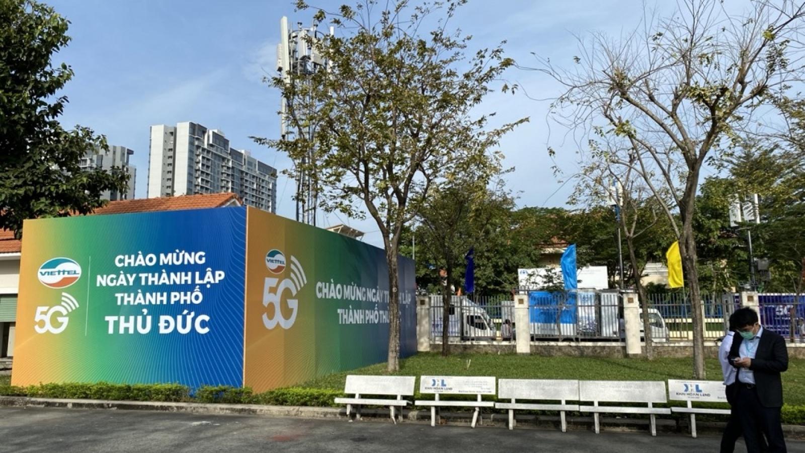 Viettel chính thức khai trương dịch vụ 5G tại thành phố Thủ Đức